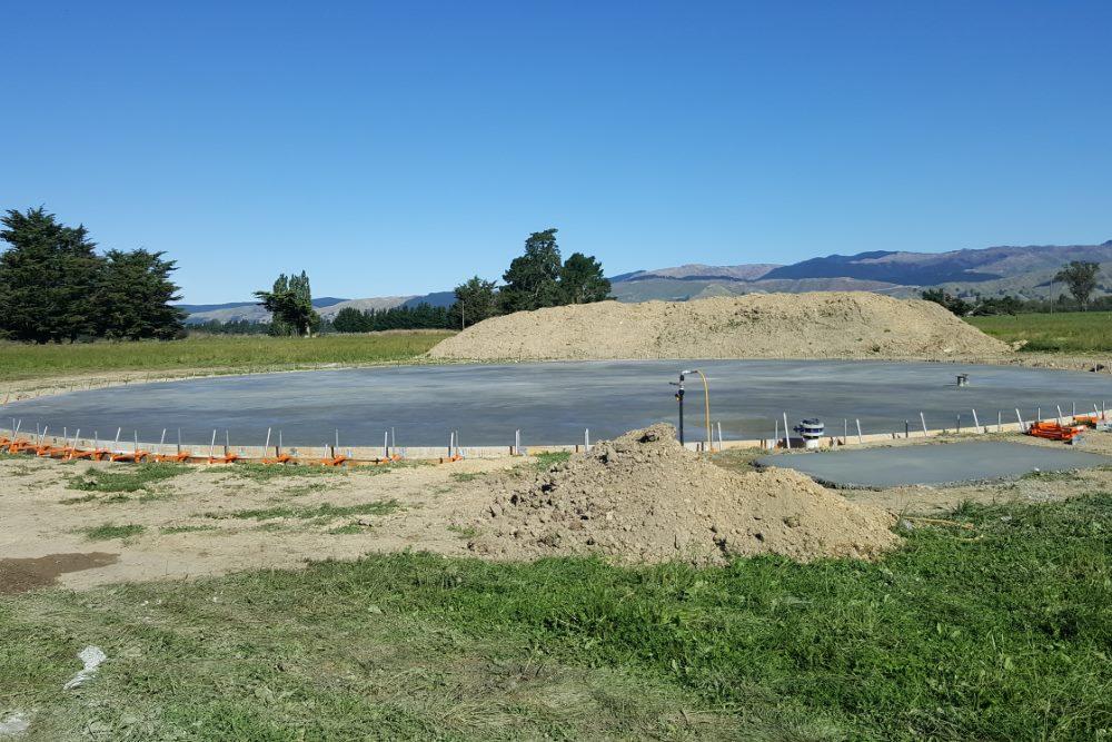 Dairy Farm Wastewater Tank